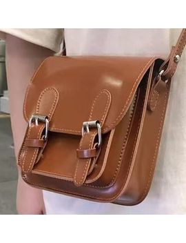 Minafox   Faux Leather Mini Satchel Bag by Minafox