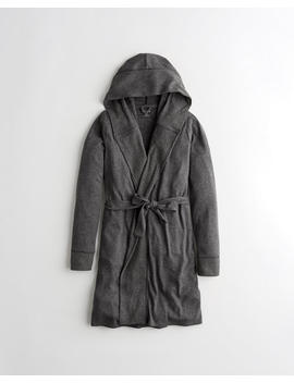 Dreamworthy Ribbed Belted Robe by Hollister
