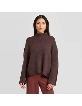 Women's Mock Turtleneck Pullover   Prologue™ by Prologue