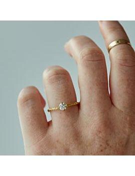 Homespun Solitaire Ring, Diamond by Satomi Kawakita