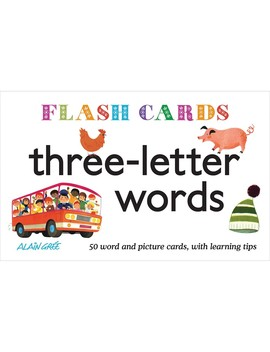 Flash Cards 3 Letter Words by Jo Jo Maman Bebe