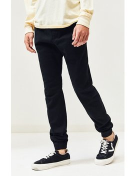 Zanerobe Black Sureshot Jogger Pants by Pacsun