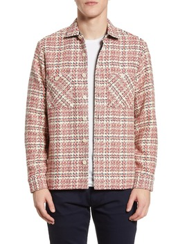 Whiting Zigzag Button Up Shirt by Wax London