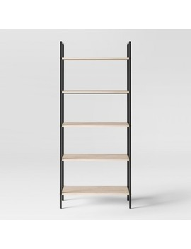 """72"""" Loring 5 Shelf Ladder Bookcase   Project 62™ by Shop Collections"""
