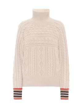 Dolcevita A Trecce In Cashmere by Burberry