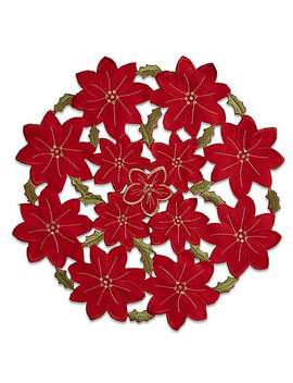Poinsettia Set Of 2 Placemats by Dunelm