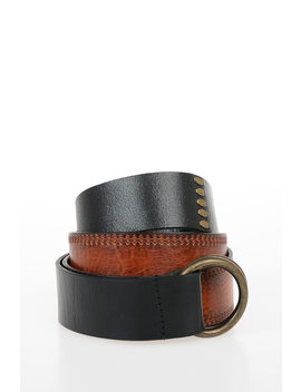 40mm Leather Belt by Dsquared2