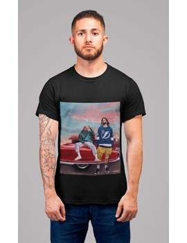 J Cole X Kendrick Lamar Illustration Art Unisex T Shirt by Etsy
