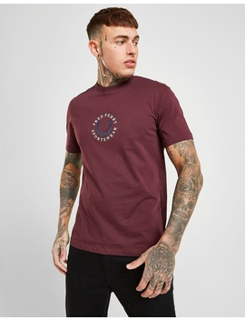 Fred Perry Global Logo Short Sleeve T Shirt by Fred Perry