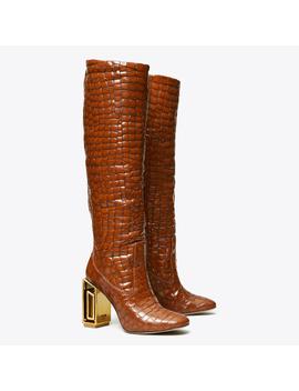 Jessa Metal Heel Boot by Tory Burch
