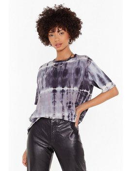 Tie Dying To Meet You Oversized Tee by Nasty Gal