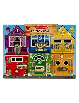 Melissa & Doug Locks & Latches Board by Jo Jo Maman Bebe