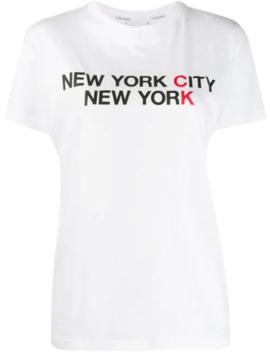 T Shirt Met Print by Calvin Klein