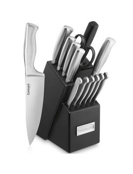 Cuisinart® Classic Stainless Steel 15 Pc. Knife Block Set by Cuisinart