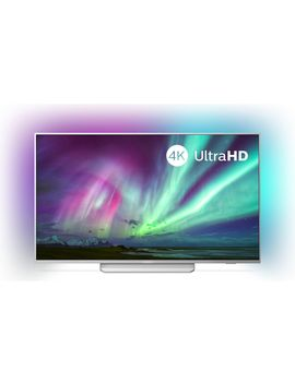 """Ambilight 50 Pus8204/12 50\"""" Smart 4 K Ultra Hd Hdr Led Tv With Google Assistant by Currys"""