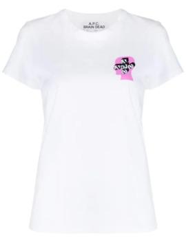 T Shirt Met Print by A.P.C.