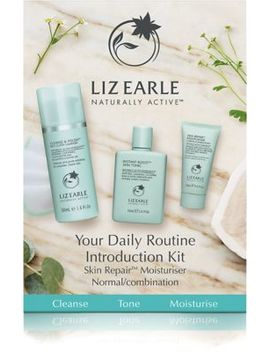 Liz Earle Your Daily Routine Introduction Kit With Skin Repair™ Moisturiser – Normal/Combination by Liz Earle