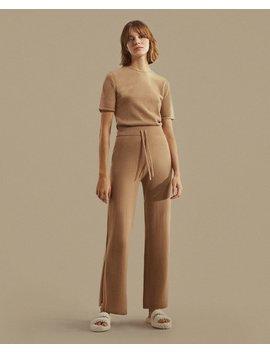 Kaszmirowa Koszulka Kobieta   OdzieŻ   Loungewear   Sypialnia by Zara Home