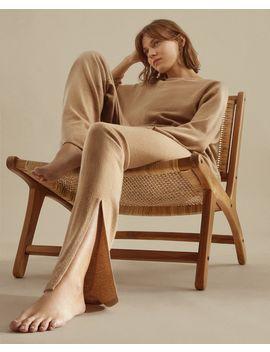 Kaszmirowe Spodnie Kobieta   OdzieŻ   Loungewear   Sypialnia by Zara Home