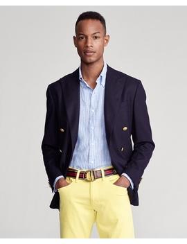 Custom Fit Striped Linen Shirt by Ralph Lauren