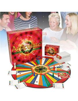Articulate Fast Talking Description Board Game Describe Word Family Play Set Uk by Ebay Seller