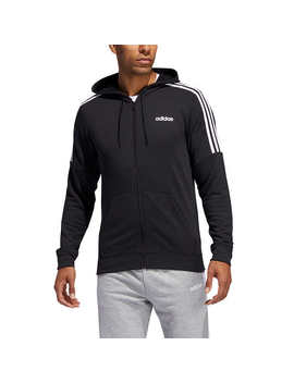 Adidas Men's French Terry Full Zip Sweatshirt by Adidas