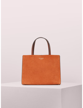 Sam Suede Medium Satchel by Kate Spade