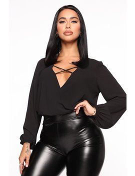 Strappy Intentions Top   Black by Fashion Nova