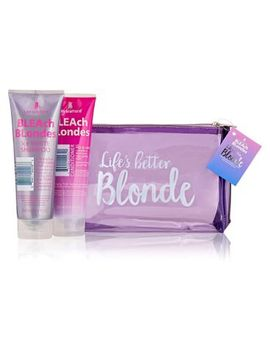 Lee Stafford Life's Better Blonde Washbag Gift by Lee Stafford