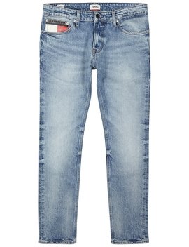 Light Blue Slim Leg Jeans by Tommy Jeans