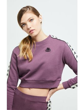 Kappa 222 Banda Bacroy Cropped Sweatshirt by Pacsun