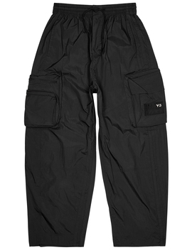 Black Shell Sweatpants by Y 3