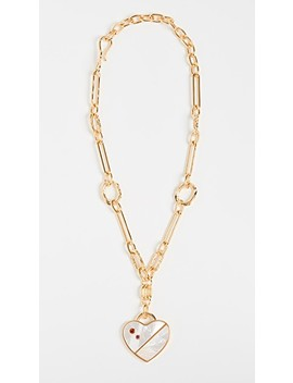 Venice Heart Necklace by Lizzie Fortunato