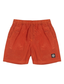Orange Shell Swim Shorts by Stone Island