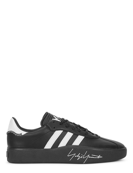 Tangutsu Black Leather Sneakers by Y 3