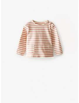 Premium Striped T Shirt by Zara