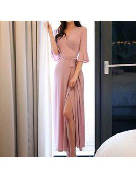 Boheme   Print Maxi Wrap Dress by Boheme