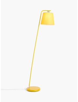 House By John Lewis Harry Floor Lamp, Mustard by House By John Lewis