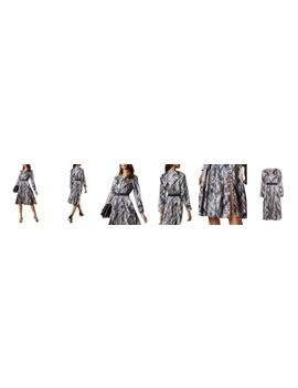 Lilis Quartz And Plaid Print Midi Dress by Ted Baker