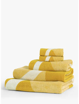 House By John Lewis Squiggle Towels by House By John Lewis