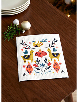 L'essuie Tout éponge Noël Dans Les Andes by Simons Maison