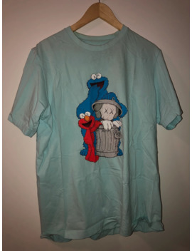 Kaws Sesame Street Elmo Cookie Monster Tee by Uniqlo  ×  Kaws  ×