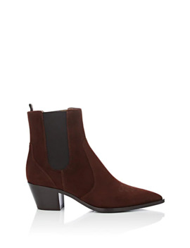 Austin Suede Chelsea Boots by Gianvito Rossi