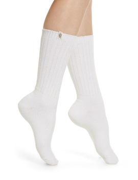 Ribbed Crew Socks by Ugg®