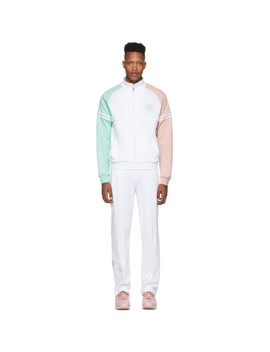 White Sergio Tacchini Edition Stripe Track Suit by Band Of Outsiders