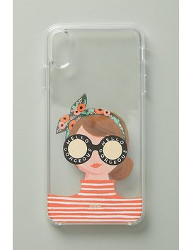 Rifle Paper Co. Hello Gorgeous I Phone Case by Rifle Paper Co.