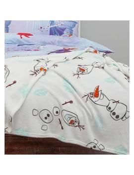 Disney Frozen 2 Olaf Flannel Fleece 128/0269 by Argos