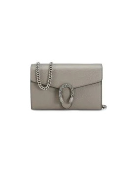 Mini Dionysus Leather Chain Bag by Gucci