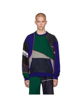 Multicolor Patchwork Sweatshirt by Ahluwalia Studio