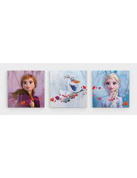 Disney Frozen 2 Set Of 3 Canvases139/8034 by Argos